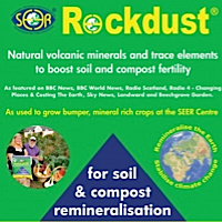 Volcanic Rock Dust 20Kg £9.99 + delivery if you buy online info@suaglon.co.uk 1 tonne bags and 29 ton loads also available. Contains 72 listed minerals and trace elements.